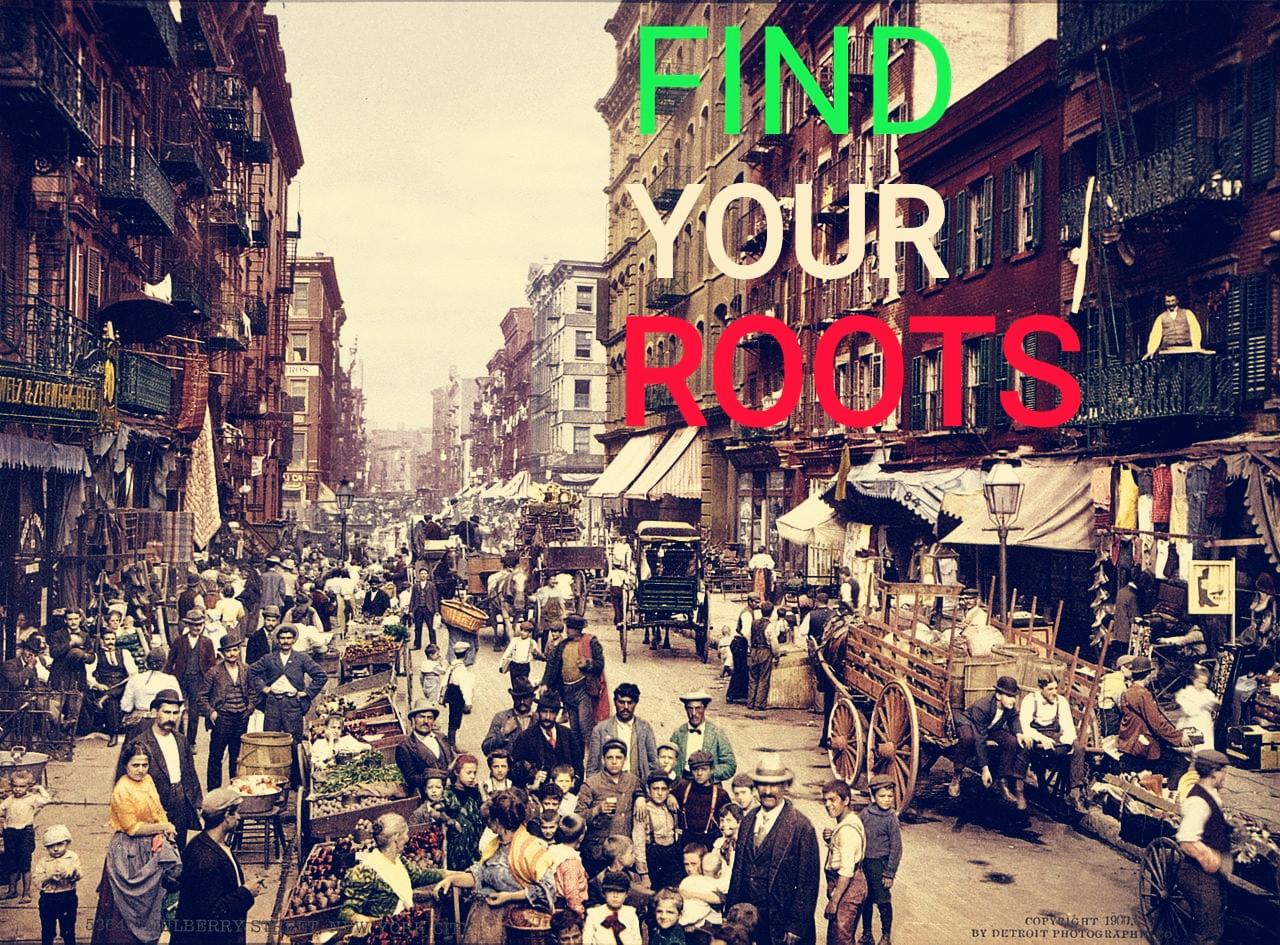 Trova le tue origini