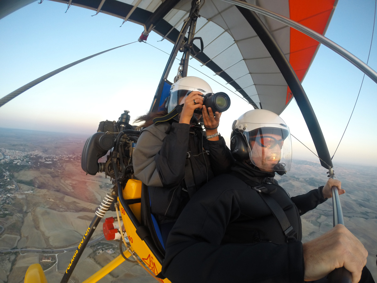 Hang Gliding over Apulia
