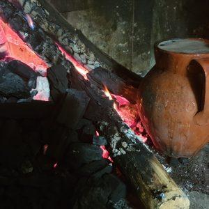 Pignata al fuoco