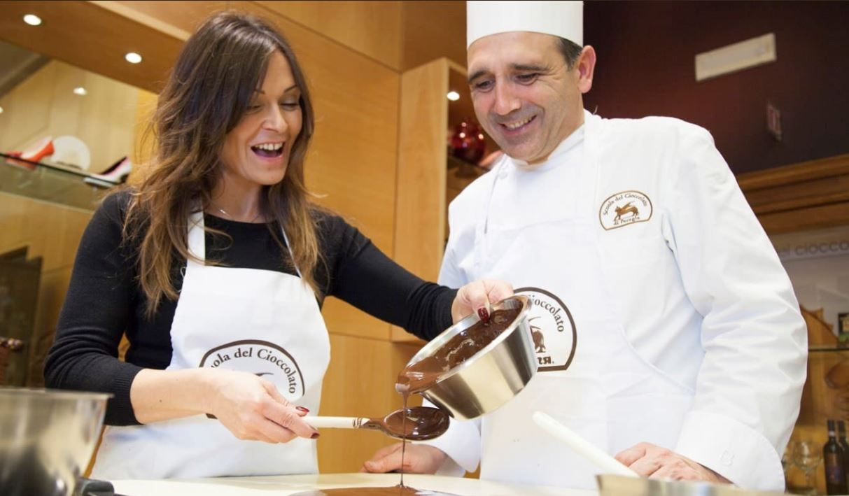 Chocolate school in Perugia
