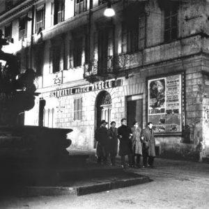 Tuscia und die Filmkunst - Film I Vitelloni -Piazza Delle Erbe