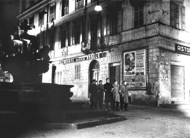 Tuscia und die Filmkunst – Film I Vitelloni -Piazza Delle Erbe