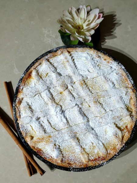 Crostata with lemon cream