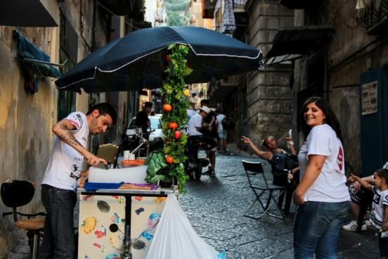 Naples FOOD AND SPANISH QUARTER