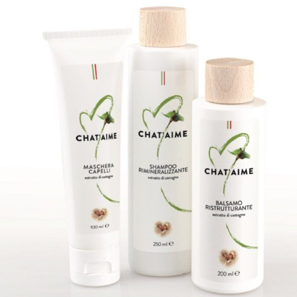 Cosmetic line Chestnuts from Piedmont
